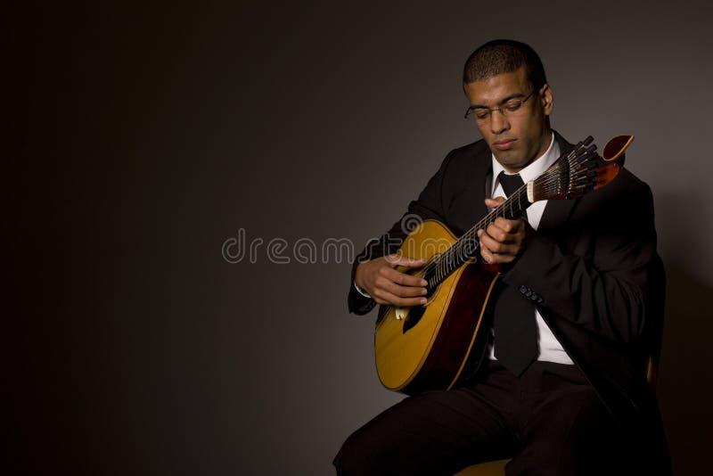 Músico do Fado imagem de stock