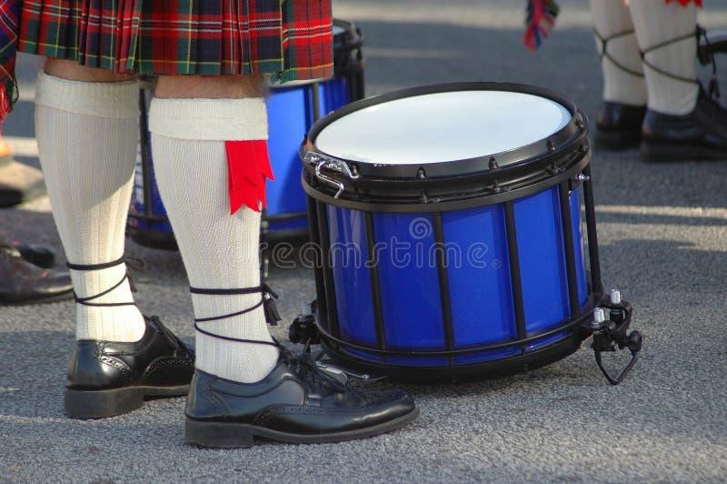 Músico escocês fotografia de stock royalty free