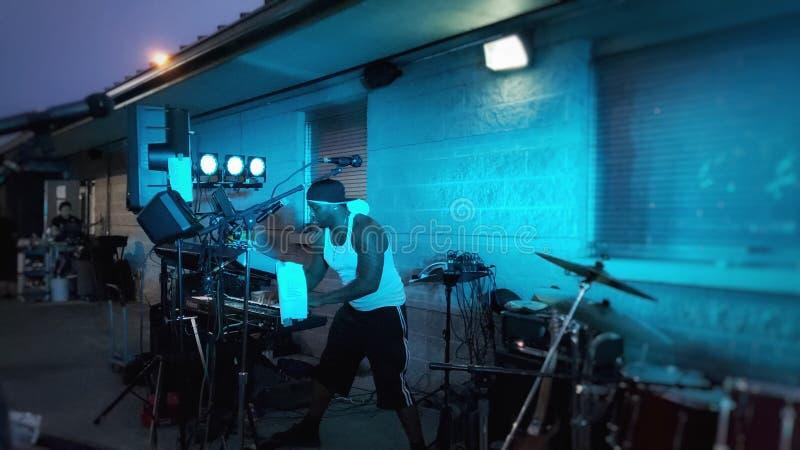 Músico Performance imagens de stock royalty free