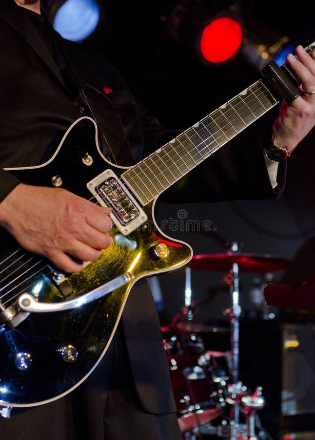 Download Guitarra No Festival Dos Azuis Imagem de Stock - Imagem de estágio, closeup: 29837589