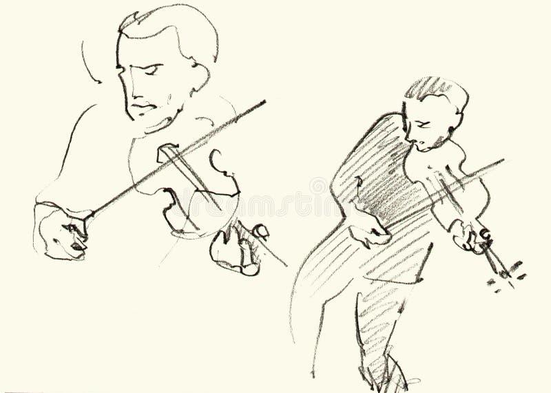 Músicos de jazz que juegan música fotos de archivo