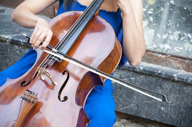 Músicos de la calle foto de archivo