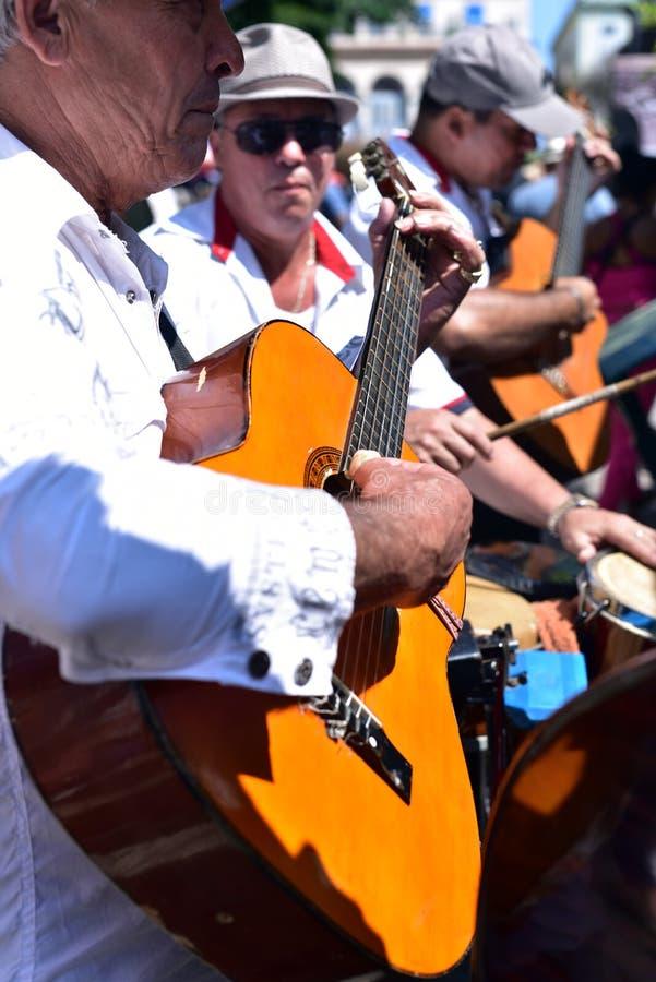 Músicos em Havana fotografia de stock royalty free