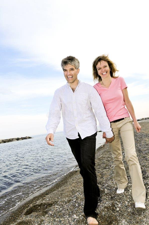 Mûrissez les couples romantiques photo libre de droits