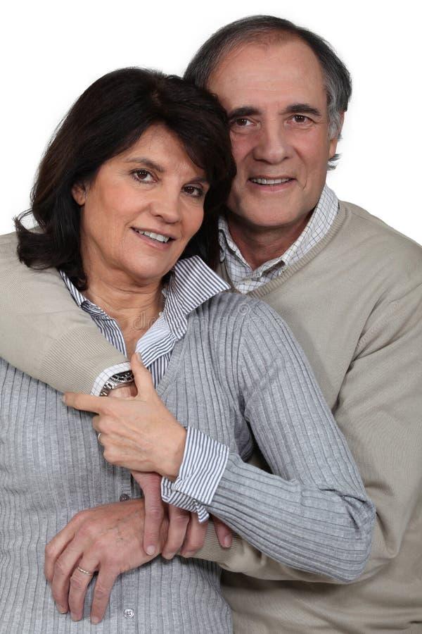 Mûrissez les ménages mariés photos stock