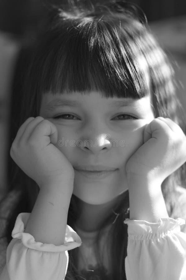 Müdes Mädchen lizenzfreie stockbilder