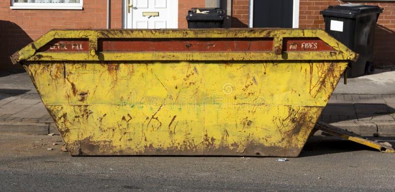 müllcontainer stockbild