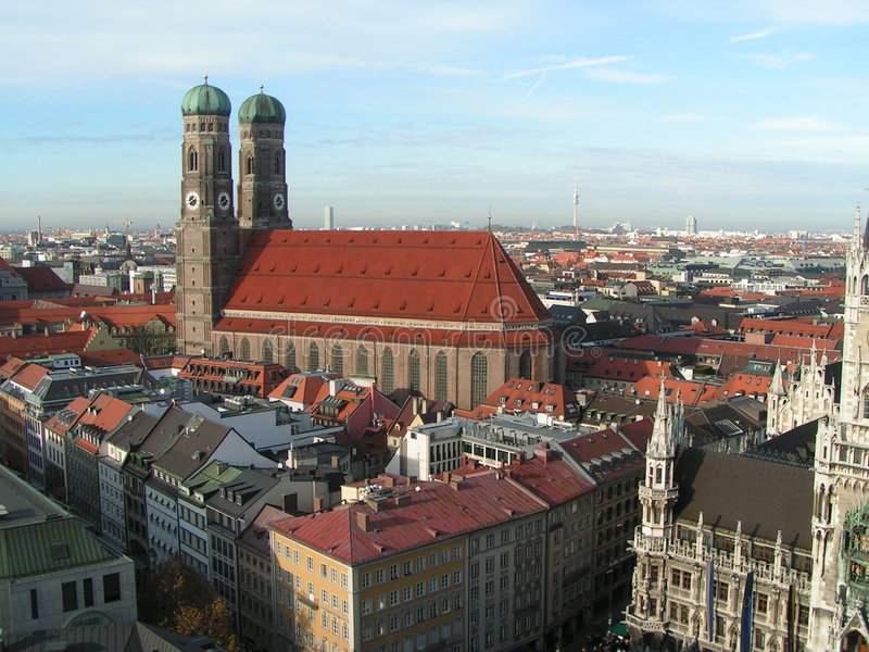 München stock afbeelding