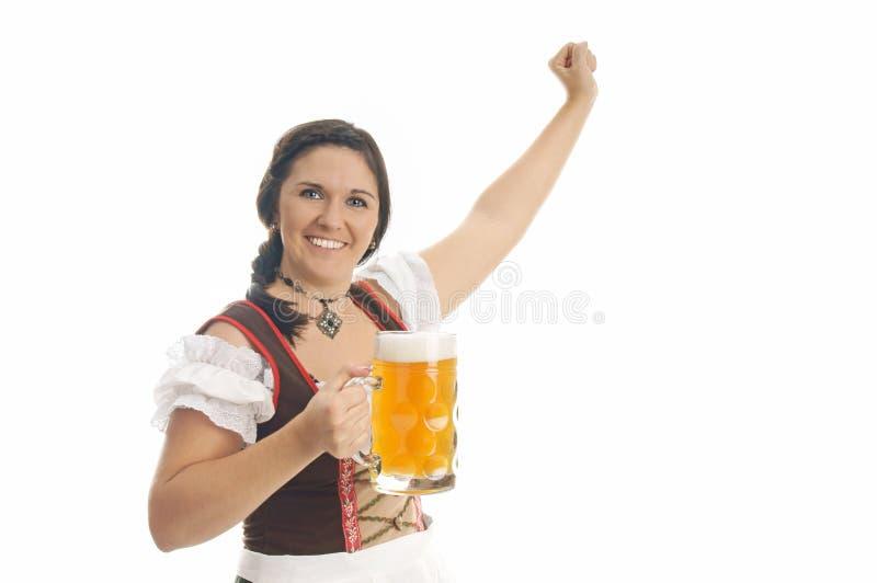 Download München-Bierfestival stockfoto. Bild von kleidung, dirndl - 26366112