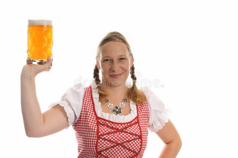 Download München-Bierfestival stockfoto. Bild von fashion, frau - 26366168