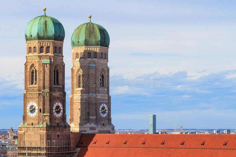 München, Frauenkirche, Beieren, Germa stock foto