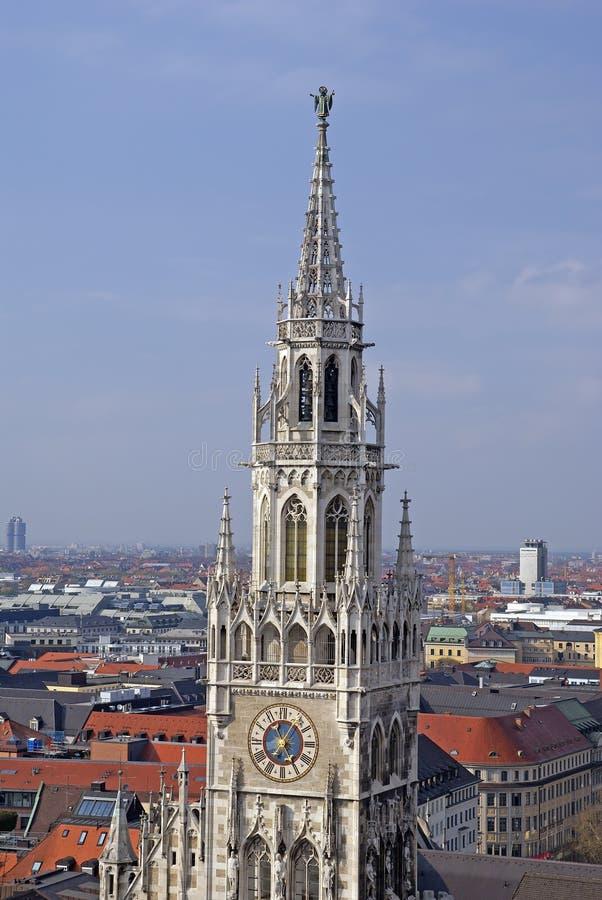 München-Kontrollturm stockbilder