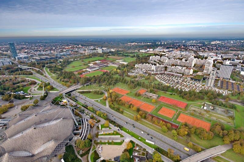 München Olympiapark stock afbeelding