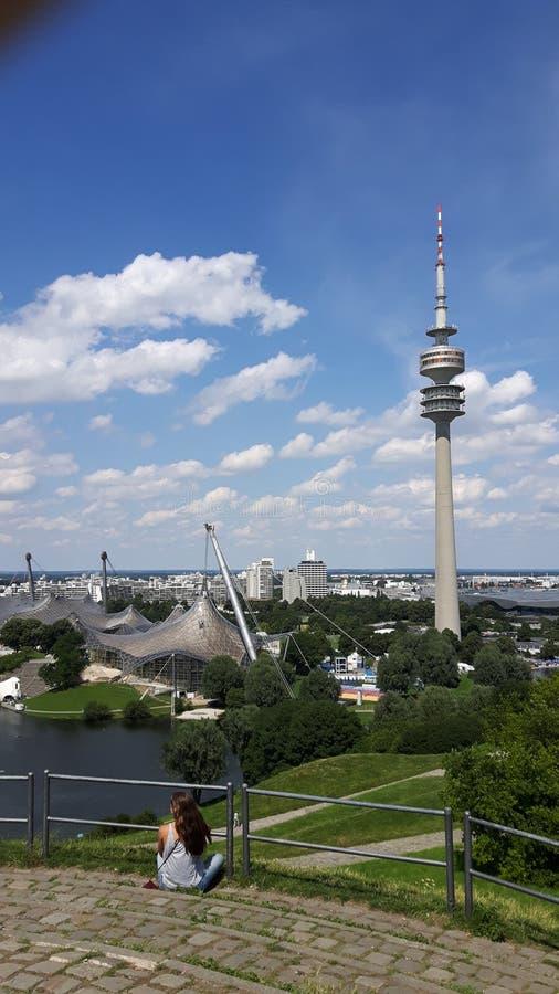 München Olympiapark stockbilder