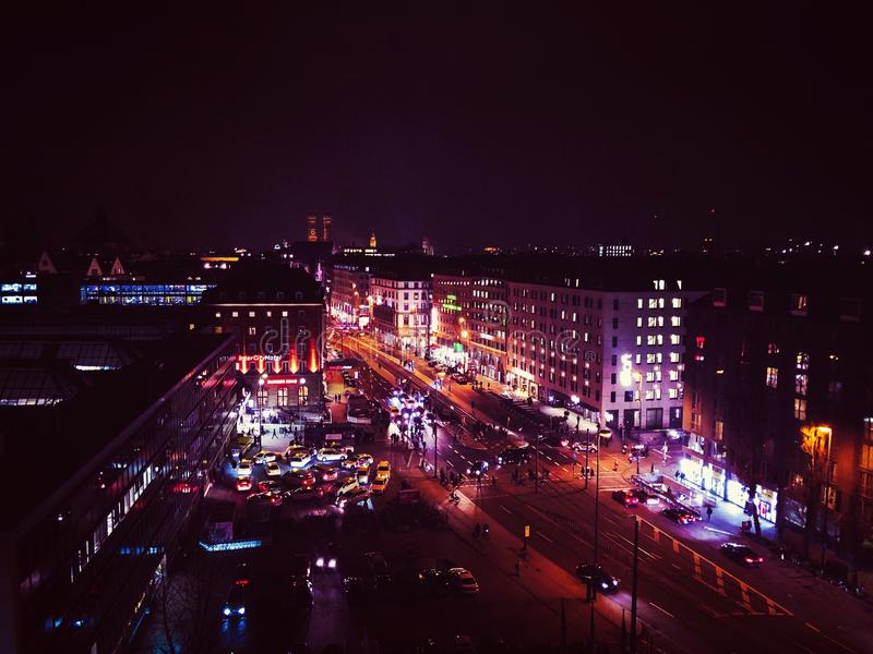 München-Stadt stockfotografie