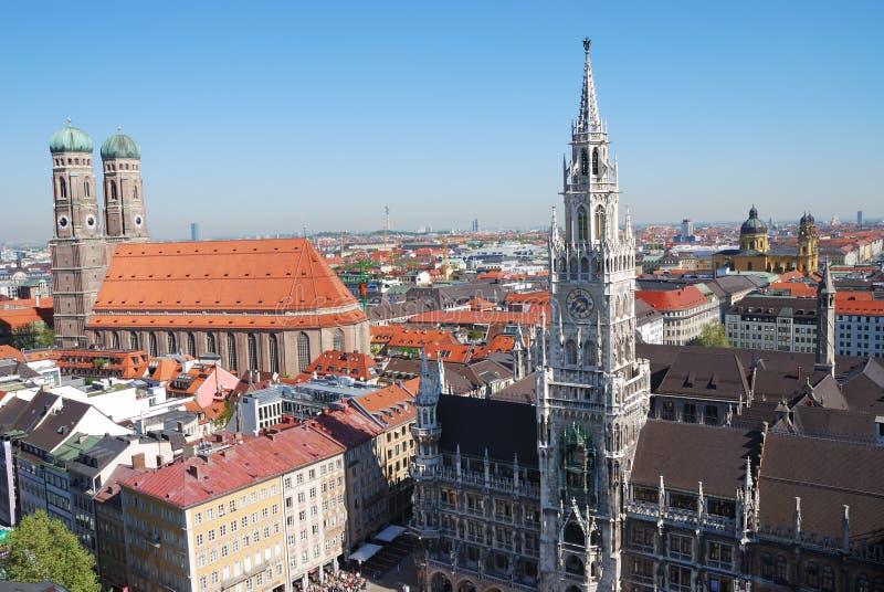 München-Stadthaus lizenzfreie stockbilder