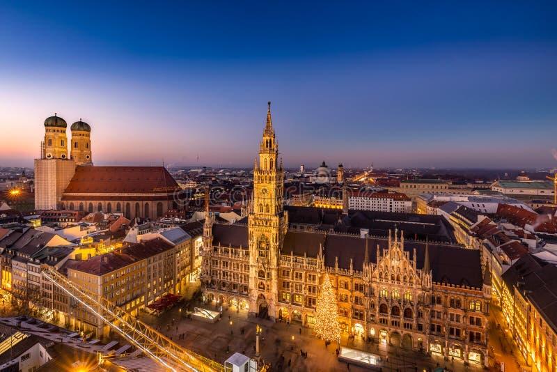 Münchens gamla stad royaltyfri foto