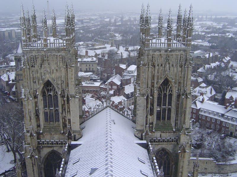 Münster-Kathedrale, York, Vereinigtes Königreich lizenzfreies stockbild