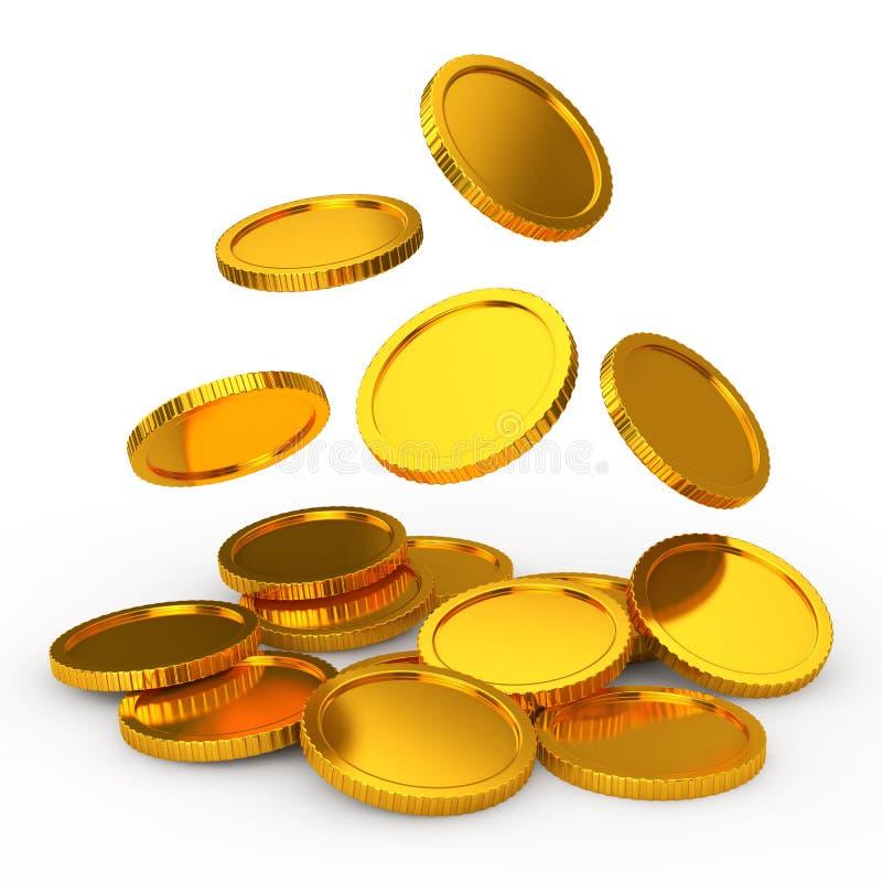münze stock abbildung