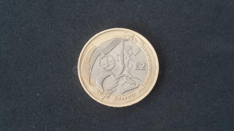 Münze Commonwealth-Nordirlands £2 stockfotografie
