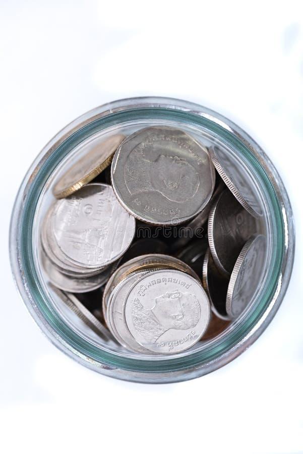 Münze von Thailand lizenzfreie stockfotografie