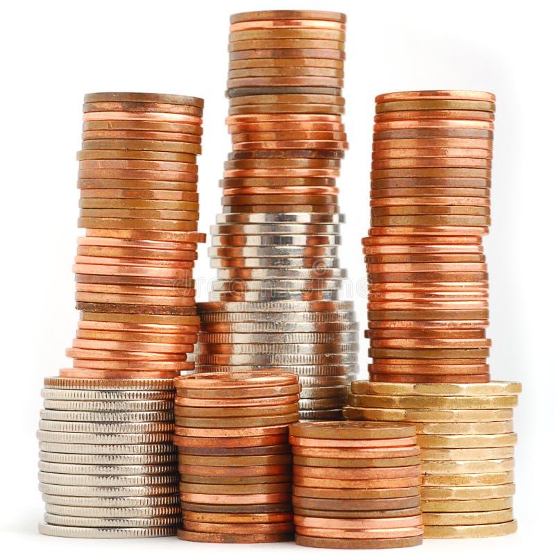 Münzenkontrollturm stockfotos