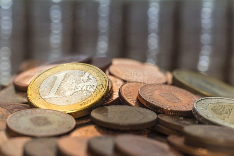 Münzgeld lizenzfreies stockfoto