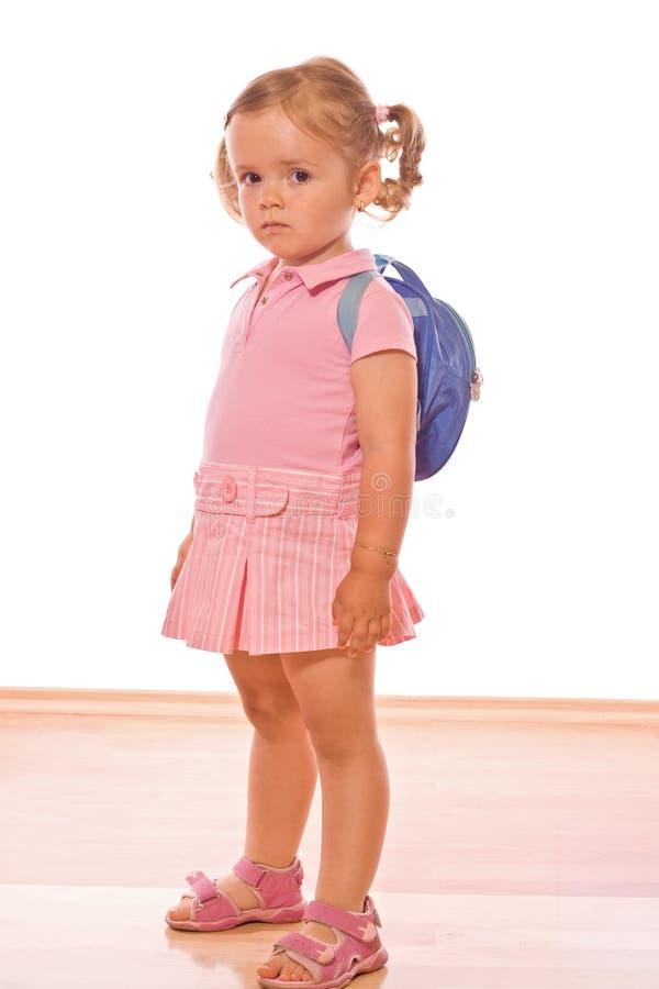 Müssen Schmiere zur Schule stockbild