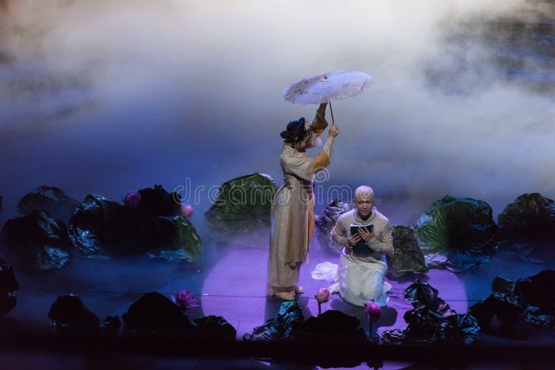 Mąż śpiewać aktu 4ï ¼ šProfound przyjaźń i żona obraz stock