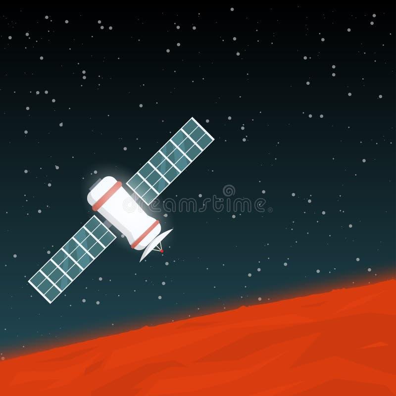 Mąci astronautyczną sondę royalty ilustracja