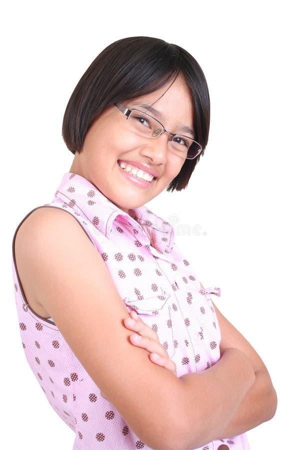 mądra dziewczyna zdjęcie stock
