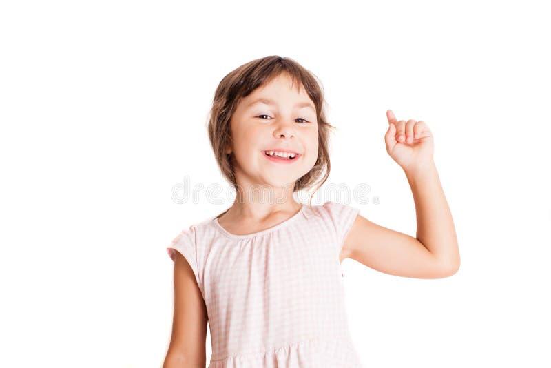 Mądra mała dziewczynka zdjęcie stock