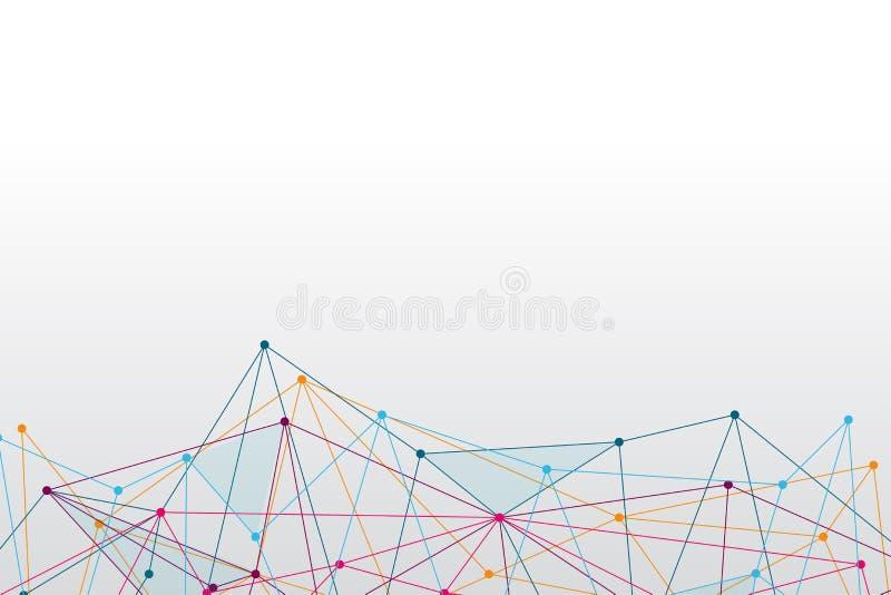 Mądrze Kulisowe technologie dostarczać wysoką dostępność łączliwości A royalty ilustracja