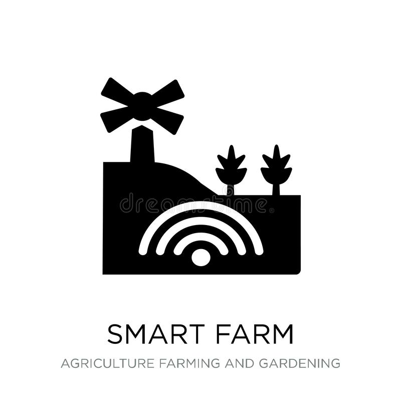 mądrze rolna ikona w modnym projekta stylu mądrze rolna ikona odizolowywająca na białym tle mądrze rolna wektorowa ikona prosta i royalty ilustracja