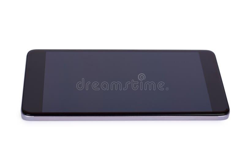 Mądrze telefon z pustym ekranem Odizolowywającym na biały tle zdjęcia stock