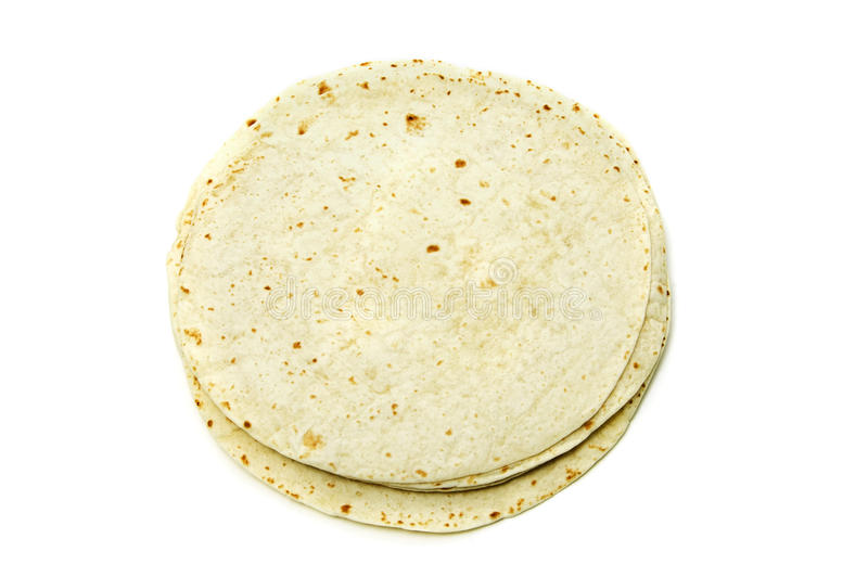 mąk tortillas fotografia stock