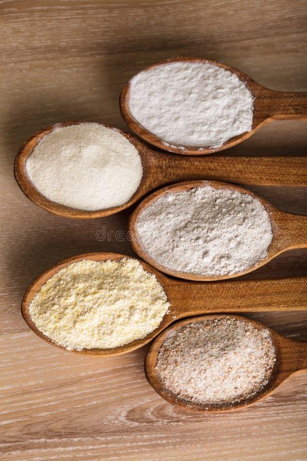 mąka typ zdjęcia stock
