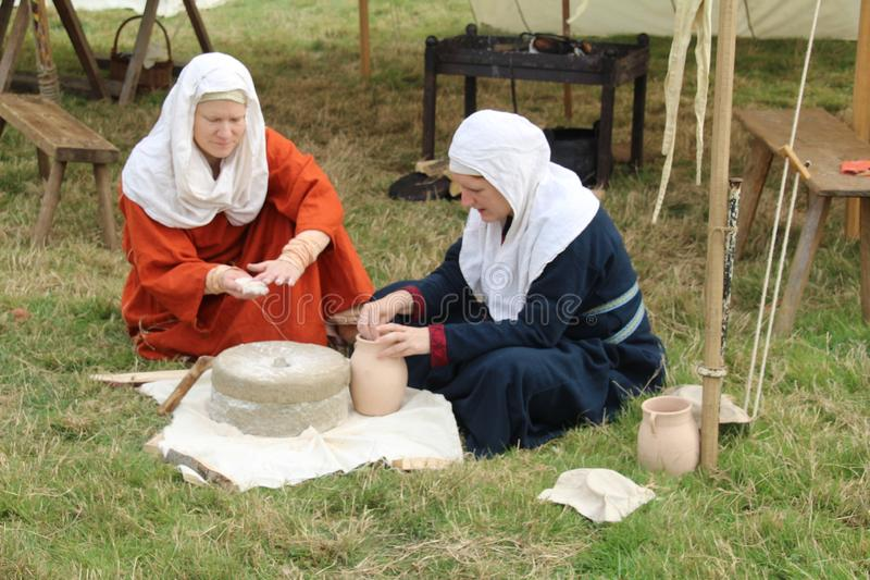 Mąki produkcja obrazy royalty free