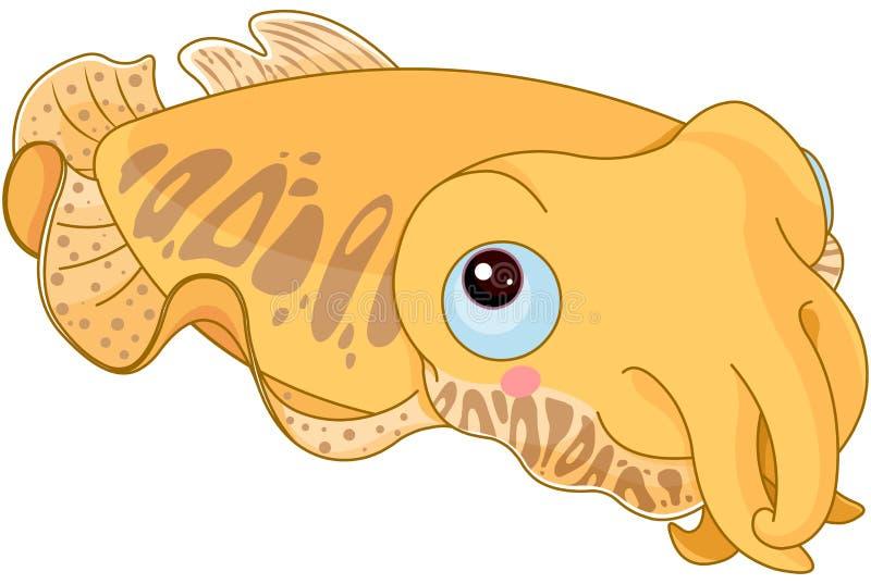 Mątwy ryba ilustracji