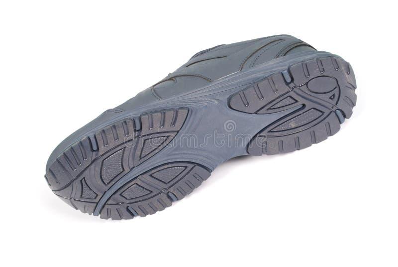 Mężczyzn błękitni sneakers zdjęcie royalty free