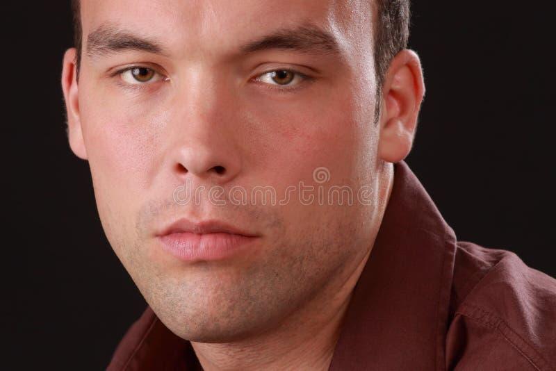 mężczyzna śliczni potomstwa fotografia stock
