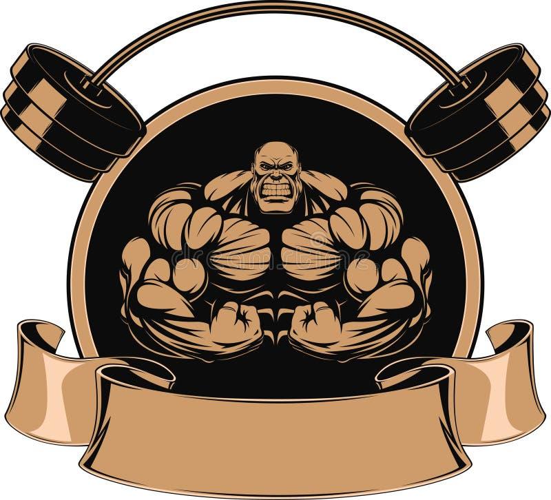 Mężczyzna żelazo ilustracja wektor