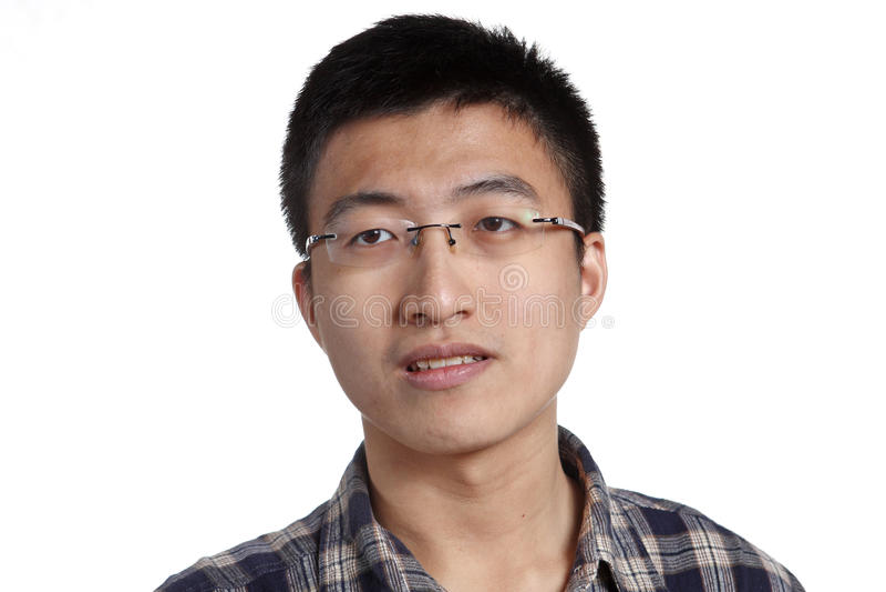 mężczyzna azjatykci potomstwa zdjęcie royalty free