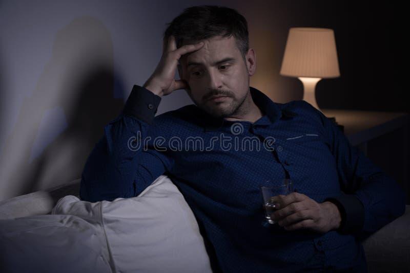 Mężczyzna bój z past zdjęcie stock