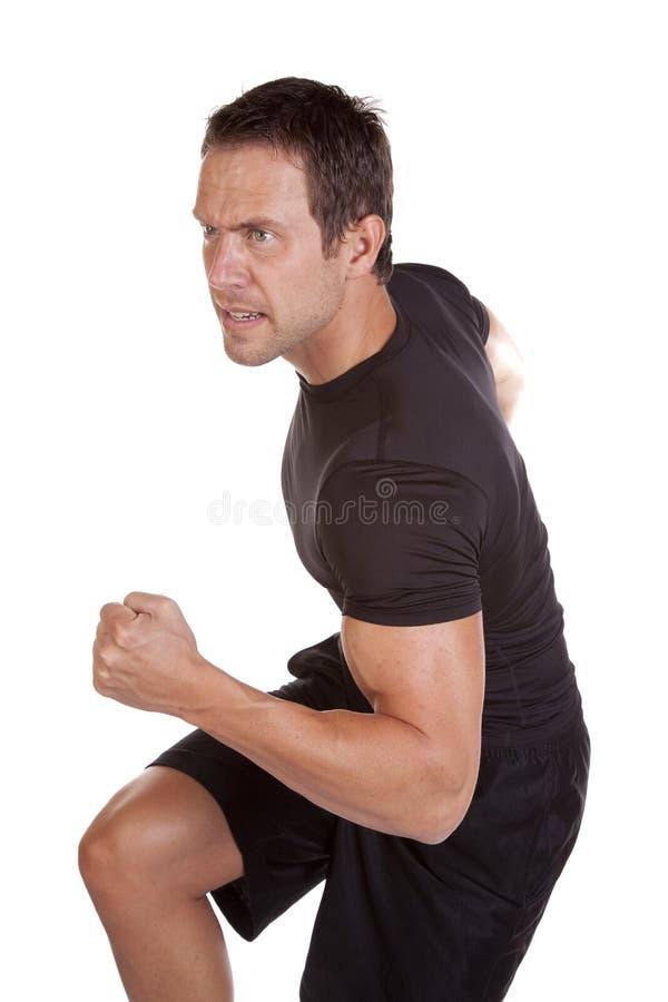 mężczyzna bieg obraz stock