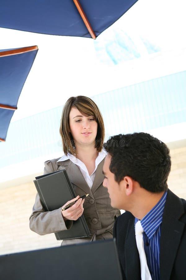mężczyzna biura kobieta obrazy stock