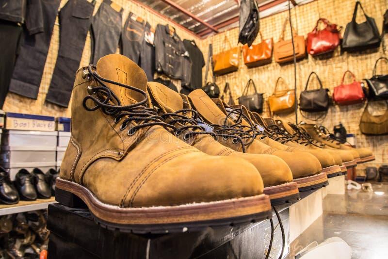 Mężczyzna buty obraz stock