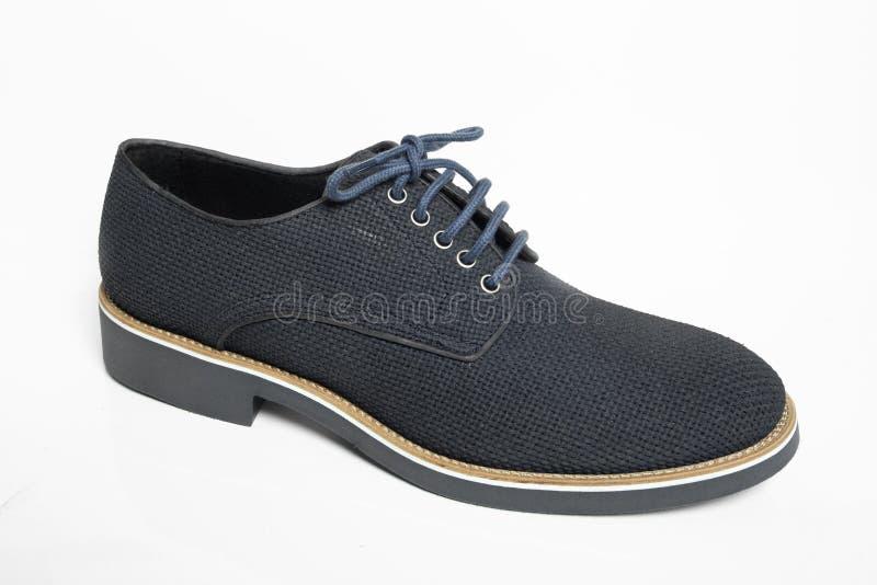 Mężczyzna buty odizolowywający zdjęcie stock