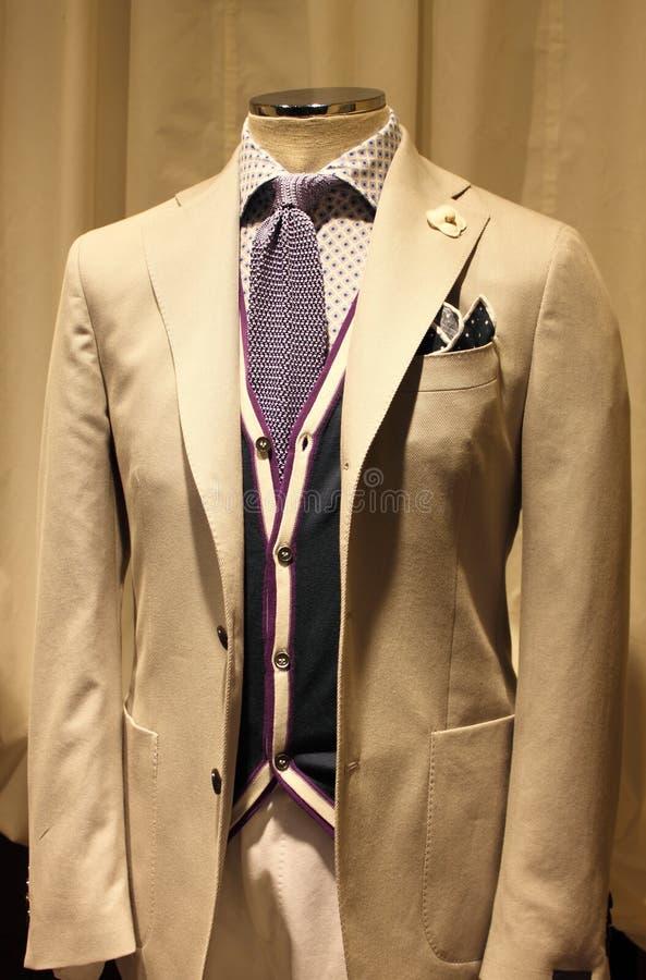 mężczyzna elegancki kostium zdjęcie stock