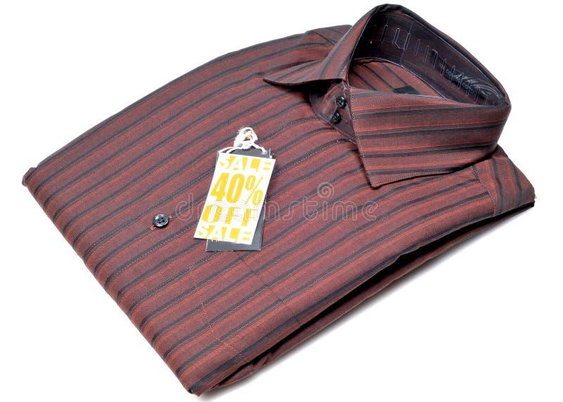 mężczyzna formalna koszula s fotografia stock
